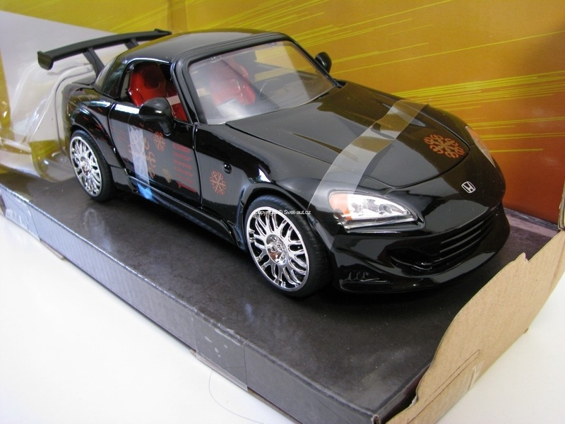 Johny's Honda S2000 Fast and Furious 8 1:24 Jada Toys